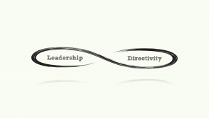 The polarity between 'Leadership' and 'Directivity'